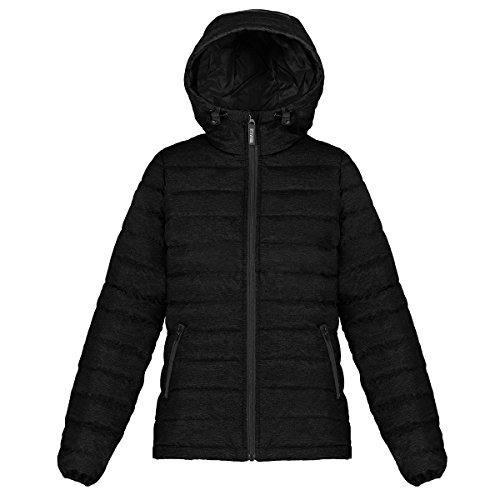 - Triple F.A.T. Goose Whitney Women's Lightweight Down Jacket with Hood (Medium, Black)