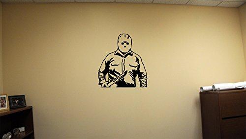 Advanced store Michael Myers Dead Horror Vinyl Wall Decals Halloween Decor Stickers Vinyl Mural -
