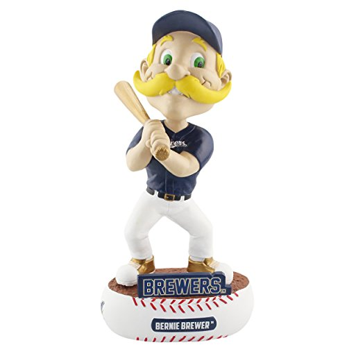 Forever Collectibles Milwaukee Brewers Mascot Milwaukee Brewers Baller Special Edition Bobblehead MLB