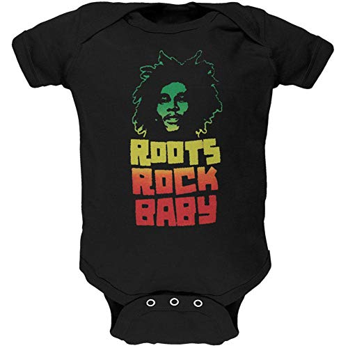 Bob Marley - Roots Rock Baby One Piece - 6-12 months