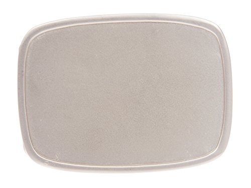 Rectangular Plain Belt Buckle - Buckle Plain