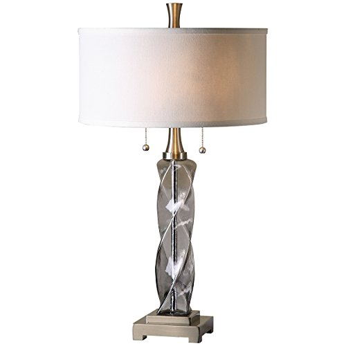 Uttermost 26634-1 Spirano Glass Table Lamp, - Contemporary Via Table