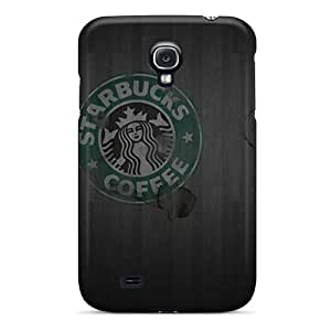Galaxy S4 Case Cover - Slim Fit Tpu Protector Shock Absorbent Case (starbucks)