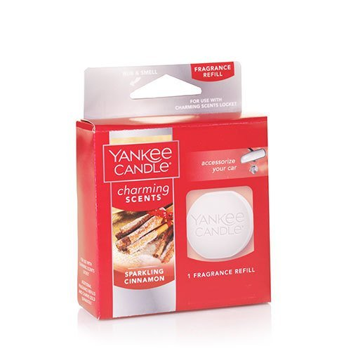 Yankee Candle Sparkling Cinnamon Charming Scents Fragrance Refill, Festive Scent