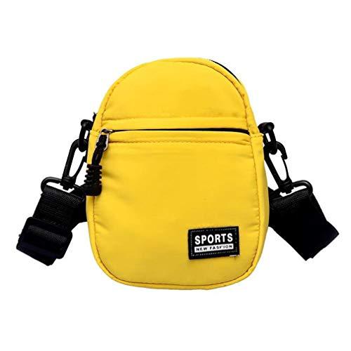 Black De One Yellow Size Mensajero Bolsas Pequeñas tvxqwPTx