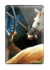 Flexible Tpu Back Case Cover For Ipad Mini/mini 2 - Rapunzel & Flynn In Tangled