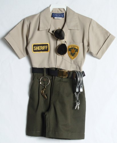 Sheriff Costume Girl (Children's Sheriff Outfit (5))