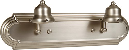 Craftmade Arch - Craftmade 11718BN2 Racetrack 2 Light Arch Arm Vanity Incandescent, Brushed Satin Nickel