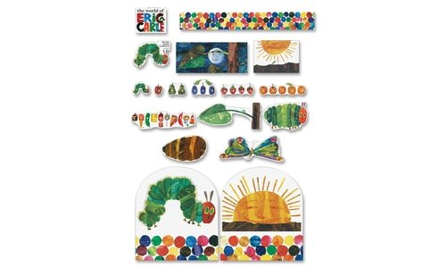 Self Carson Adhesive (Carson Very Hungry Caterpillar Board Set-Very Hungry Caterpillar Board Set, Multi Colored)
