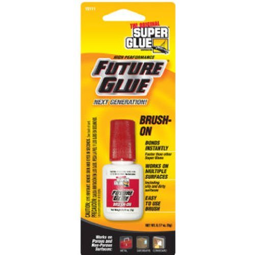 SUPER GLUE CORP/PACER TECH 15116 Future Glue/Brush, 5g