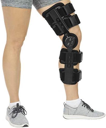 Hinged Knee Brace Black Standard product image