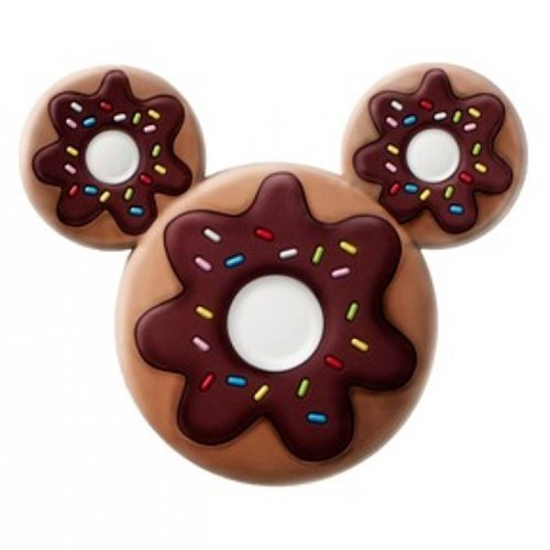 Mickey Mouse Donut Shaped PVC Magnet - Mickey Mouse Refrigerator Magnet