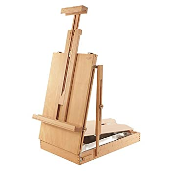Image of Arts & Crafts Supplies Mabef Sketch Box Table Easel (MBM-24)