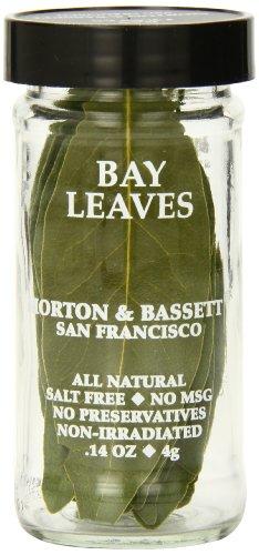 Morton & Bassett Bay Leaves.14-Ounce Jars (Pack of 3) by Morton & Bassett