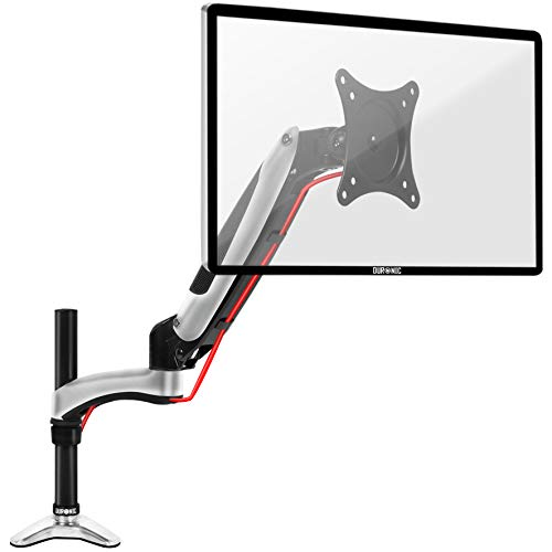 Duronic DM651X2 Gas Powered Single LCD LED Gas Desk Mount Arm Monitor Stand...