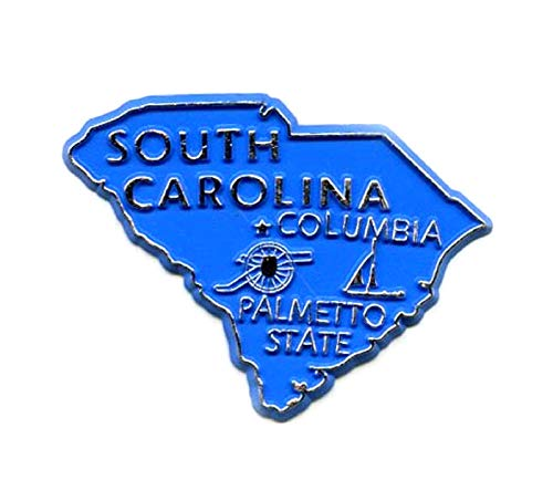(South Carolina The Palmetto State Fridge Magnet)