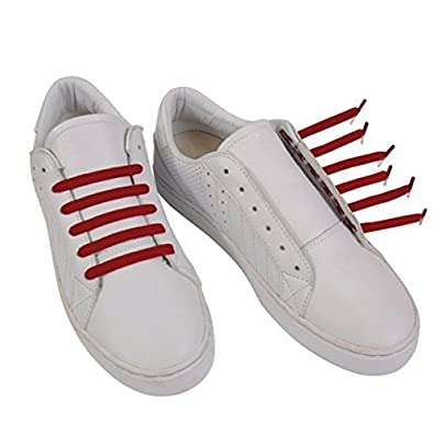 U-Lace Classic Elastic Flat Laces for Shoes and Trainers Nike Adidas  Converse VANS Men 7254124d3