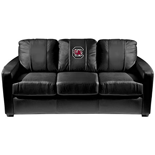 South Carolina Gamecocks Collegiate Silver Sofa