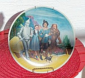 Wizard of Oz Knowles The Grand Finale Collector Plate