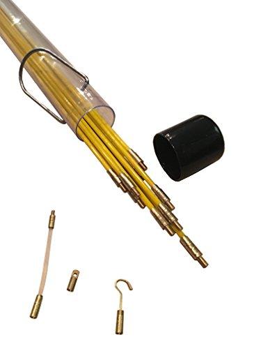 Old Timer Tools 33', 3/16 Fiberglass Wire Puller / Running Kit