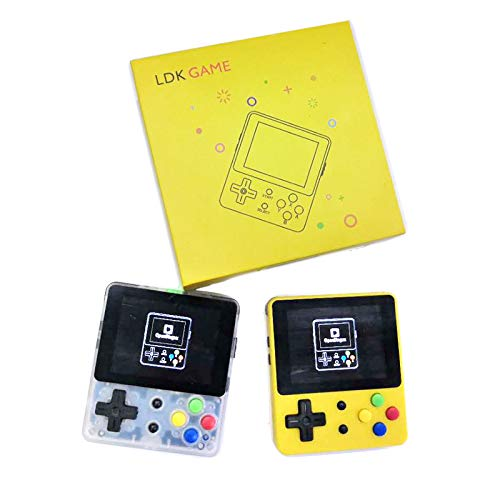 Ocamo LDK 2.6inch Screen Mini Handheld Game Console Nostalgic Children Retro Game Mini Family TV Video Consoles Transparent by Ocamo (Image #5)