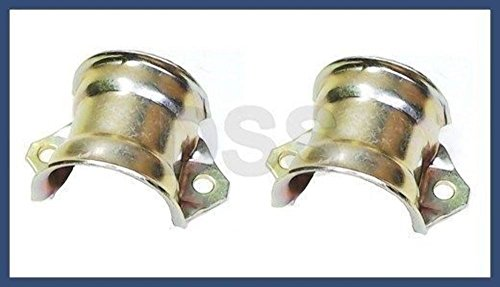 BMW e28 e32 e34 e36 Sway Bar Bushing Bracket Front x2 brackets stabilizer - Bracket Sway Bar Mount