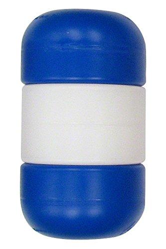 5 Inch x 9 Inch Handi-Lock Float (Blue/White/Blue, 3/4 Inch Rope)