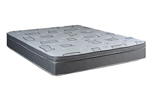 Continental Sleep Mattress, Foam Encased 10 Inch Eurotop Pillowtop Fully Assembled Orthopedic...