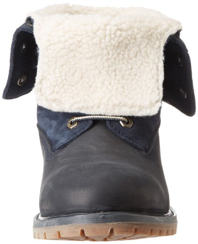 Timberland Authentics Ftw_teddy Fleece Wp Neerklapbare Damen Stiefel Blau (navy)