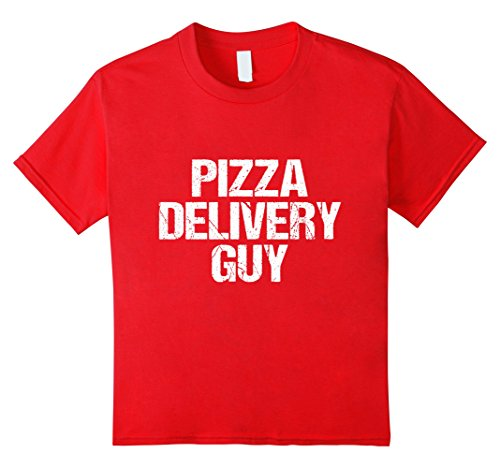 Kids Pizza Delivery Guy T-Shirt 12 (Pizza Delivery Costume)