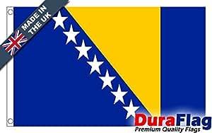 Durable aflag® Bosnia y Herzegovina Super Calidad Quality Flag