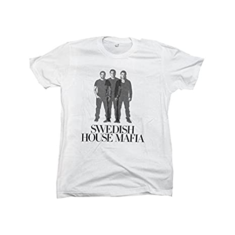 Amazon.com: Swedish House Mafia Steve, Sebastian & Axwell Mens White T-shirt - White, S - Small: Clothing