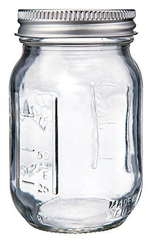 Ball Miniature 4 Ounce  18 Milliliter Glass Mini Storage Jar 14400 80101