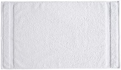 AmazonIndustrial Premium 100% Cotton Hand Towel Set - Pack of 12, 16 x 28 Inches, 550 GSM, White