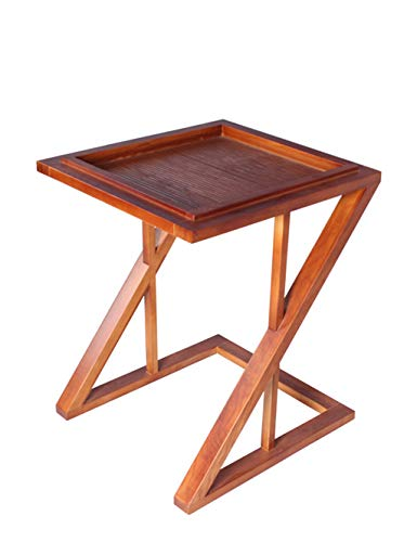 AKMQBZ No Need to Punch, Southeast Asian Style Furniture Solid Wood Flower Flower Stand Pot New Chinese Chestnut Phone Several Tables Sofa Side -