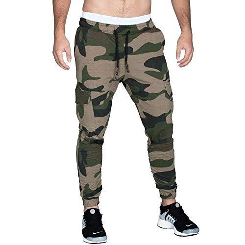 Slim Largos Fit Grün Hombre Entrenamiento Para Hombres Pantalones Con Cómodo  Transpirables Deportivos Cordón nqzp8In7xw 43fd36557a365