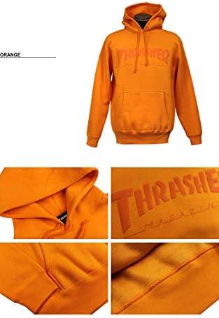 【公式】 スラッシャー パーカー THRASHER Foaming HOMETOWN HOODIE SWEAT PARKA プルオーバー パーカ スエット メンズ レディース 裏起毛スウェット S-XL
