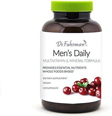 Dr. Fuhrman s Men s Daily Formula D3 120 Capsules