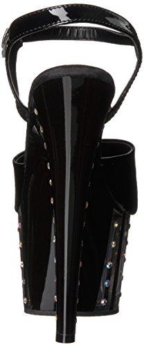 Black Punta Adore Pleaser Con Patent Sandalias 709vlrs black Abierta Mujer wC0C6qIOx