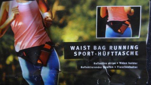 Sport Hüfttasche Gürteltasche Bauchtasche Hüft Gürtel Bauch Tasche schwarz