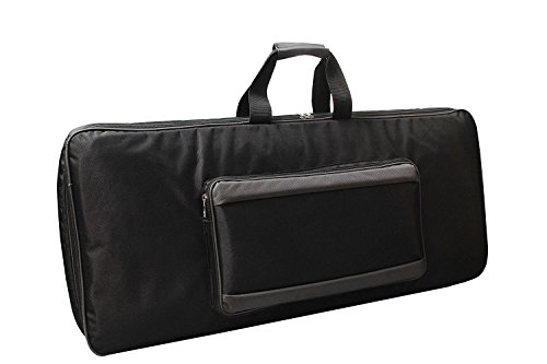 Akai Professional MPK261 | 61-Key MIDI Keyboard Controller Padded Bag Cover Case (37.5X13.5X5) inches by Mexa