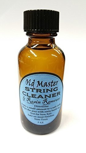 String Cleaner and Rosin Remover - 6 QUANTITY Stravari CPSC1HALFCASE