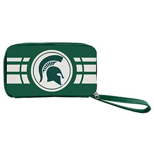 NCAA Michigan State Spartans Ripple Zip Wallet
