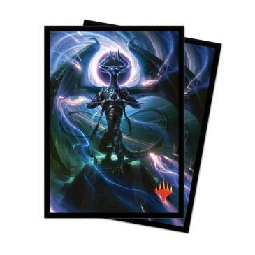 MTG War of The Spark V3 Nicol Bolas Dragon God Ultra Pro 100ct Printed Art Card Sleeves Magic The Gathering Deck Protectors