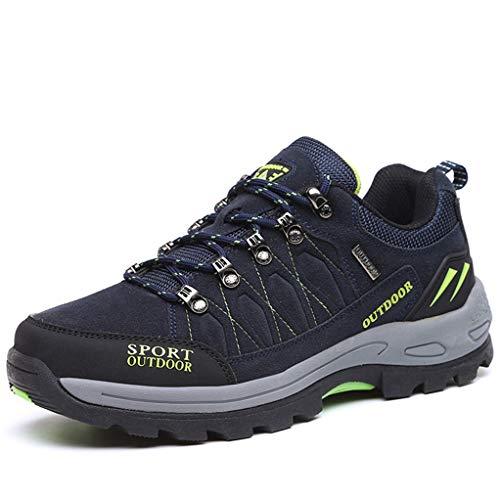 (Giles Jones Men's Climbing Shoes Antiskid Lightweight Wear-Resisting Travel Hiking Shoes)