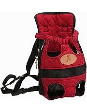 Kongqiabona-UK Husdjur ryggsäck oxduk hund bröst ryggsäck modedesign husdjurstillbehör bärbar bärväska ryggsäckar ut för husdjur katter