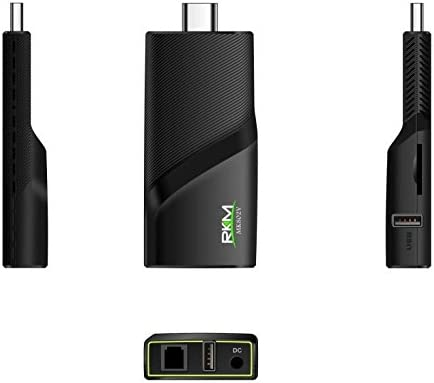 RKM Quad Core 4k Android Mini PC con 2 g RAM/16 G ROM, 2,4 g/5 g WiFi Gbit Ethernet Bluetooth4.0 1,8 GHz Hdmi Player, Smart Streaming Media Player v5: Amazon.es: Electrónica