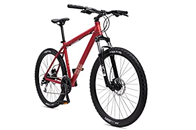 "SE Bikes Adult Big Mountain 1.0 Bike with 27.5"" Wheel - Satin Red/Copper"