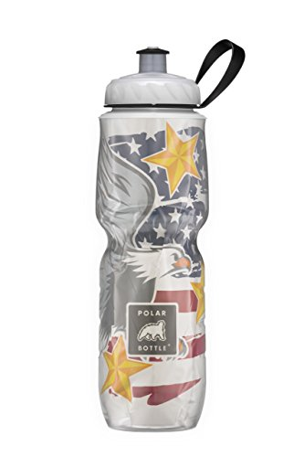 Polar Bottle Insulated Water Bottle Limited Edition (24-Ounce, (Limited Edition Eagle)