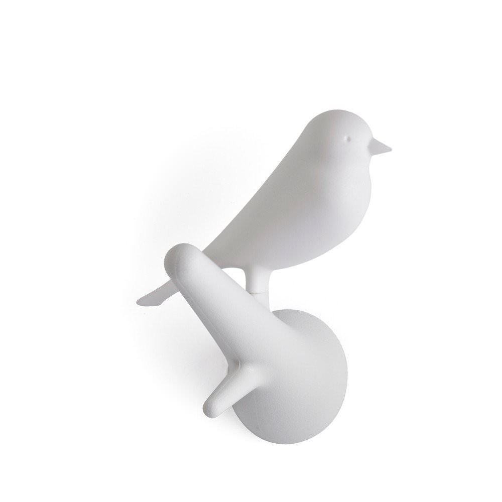Kaemingk Set de 2 Pat/ères Sparrow Blanc//Blanc